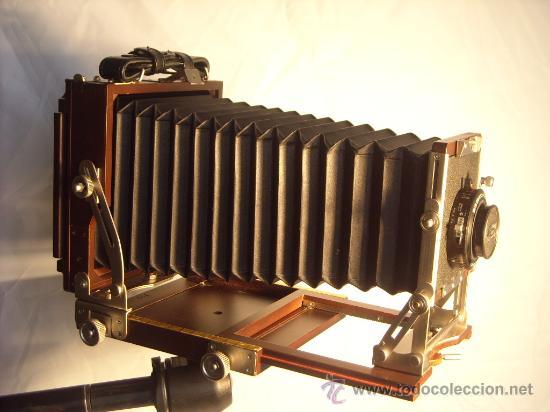 Cámara de fotos: Horseman Woodman 4x5 pulgadas schneider kreuznach xenar 150mm f4,5 copal 0 exc+++ - Foto 11 - 29279626