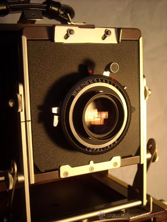 Cámara de fotos: Horseman Woodman 4x5 pulgadas schneider kreuznach xenar 150mm f4,5 copal 0 exc+++ - Foto 8 - 29279626