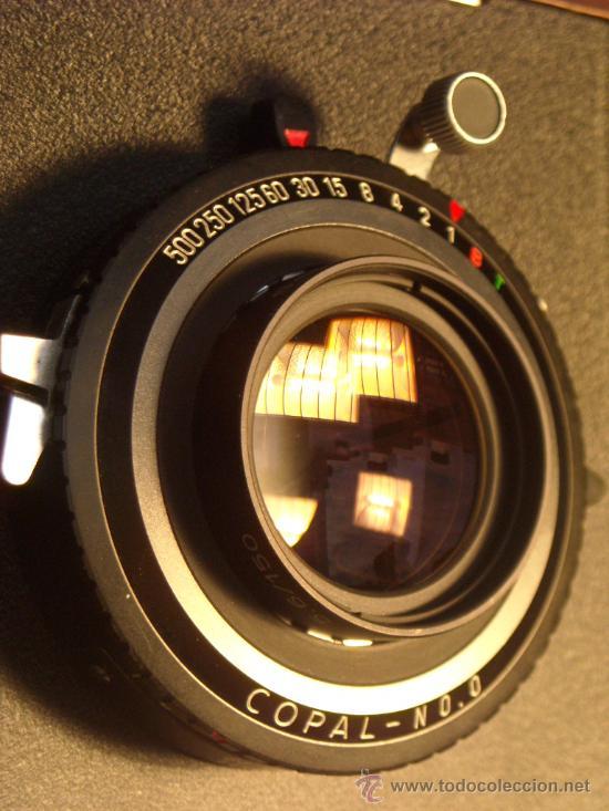 Cámara de fotos: Horseman Woodman 4x5 pulgadas schneider kreuznach xenar 150mm f4,5 copal 0 exc+++ - Foto 9 - 29279626