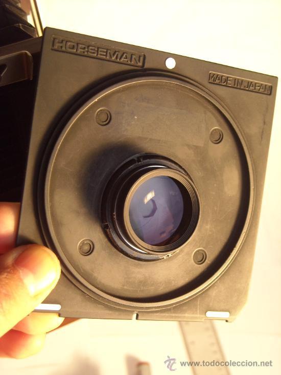 Cámara de fotos: Horseman Woodman 4x5 pulgadas schneider kreuznach xenar 150mm f4,5 copal 0 exc+++ - Foto 10 - 29279626