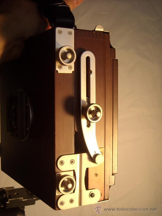 Cámara de fotos: Horseman Woodman 4x5 pulgadas schneider kreuznach xenar 150mm f4,5 copal 0 exc+++ - Foto 4 - 29279626