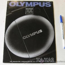 Cámara de fotos: CATALOGO DE CAMARAS COMPACTAS OLYMPUS XA - EN FRANCES. Lote 29715068