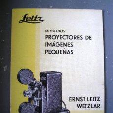 Cámara de fotos: CATALOGO LEITZ, MODERNOS PROYECTORES DE IMAGENES PEQUEÑAS, ERNST LEITZ WETZLAR, 1933. Lote 29820261