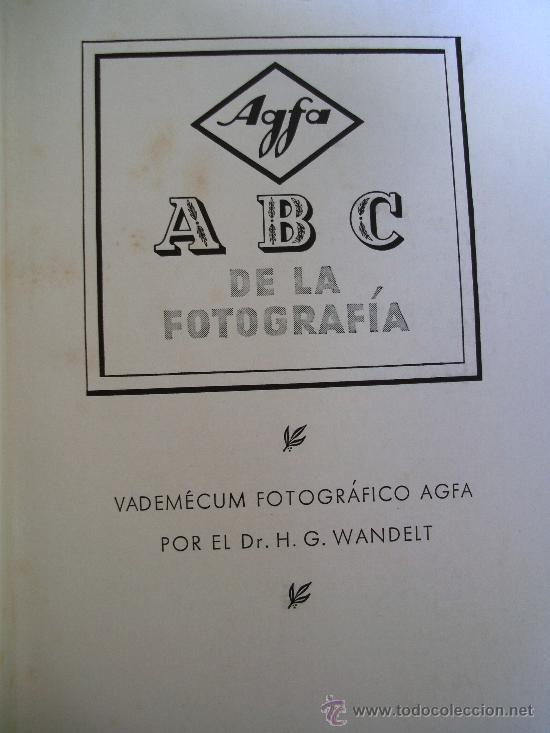 Cámara de fotos: agfa - ABC de la fotografia , años 50 aprox - Foto 2 - 29821832