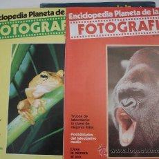 Cámara de fotos: LOTE 18 NUMEROS ENCICLOPEDIA PLANETA DE LA FOTOGRAFÍA . Lote 29846065