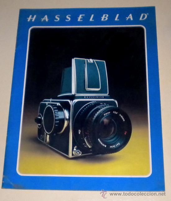 CÁTALOGOS DE CÁMARAS 1977 HASSELBLAD - TAMAÑO DIN A4 INGLÉS 24 PÁGINAS (Cámaras Fotográficas - Catálogos, Manuales y Publicidad)
