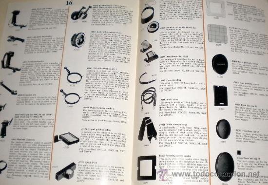 Cámara de fotos: Cátalogos de Cámaras 1977 Hasselblad - tamaño DIN A4 inglés 24 páginas - Foto 2 - 30500026