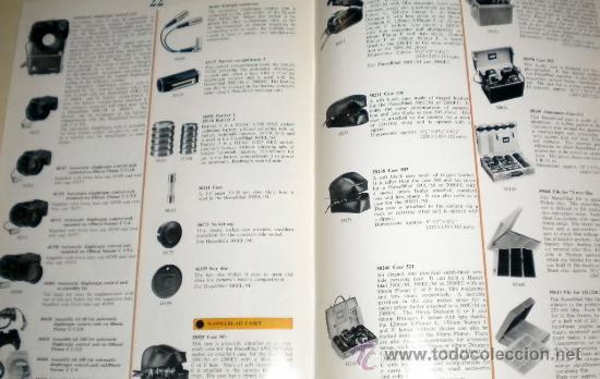 Cámara de fotos: Cátalogos de Cámaras 1977 Hasselblad - tamaño DIN A4 inglés 24 páginas - Foto 3 - 30500026