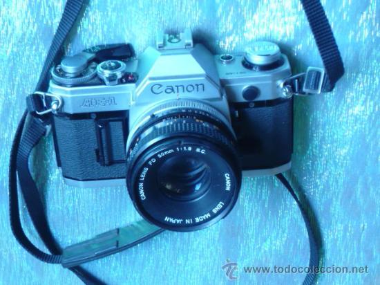 CAMARA FOTOGRAFICA CANON AE1 (Cámaras Fotográficas - Otras)