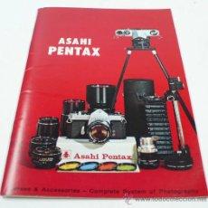 Cámara de fotos: ASAHI PENTAX. CATÁLOGO OBJETIVOS13X18 CM. 10 PAG. Lote 30599408