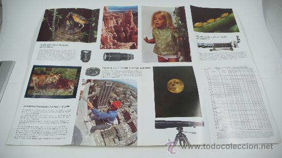 Cámara de fotos: asahi PENTAX spotmatic, en francés. Desplegable - Foto 3 - 30599479