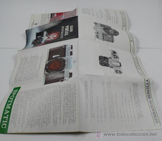 Cámara de fotos: asahi PENTAX, spotmatic. desplegable - Foto 2 - 30599470
