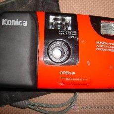 Cámara de fotos: CAMARA KONICA. POP-SUPER. CON FUNDA. Lote 181452933