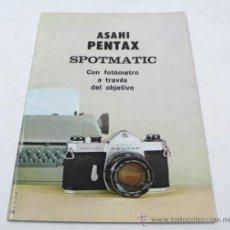 Cámara de fotos - asahi pentax. Spotmatic, catálogo desplegable. - 30774439