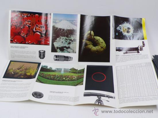 Cámara de fotos: asahi pentax. Spotmatic, catálogo desplegable. - Foto 3 - 30774439