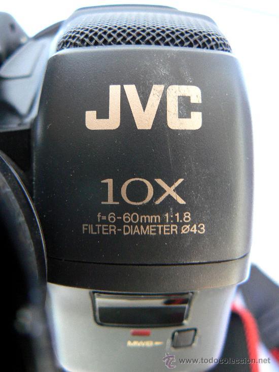 Cámara de fotos: CAMARA DE VIDEO JVC.DOS BATERIAS.CARGADOR.BOLSA DE TRANSPORTE. - Foto 6 - 30899199