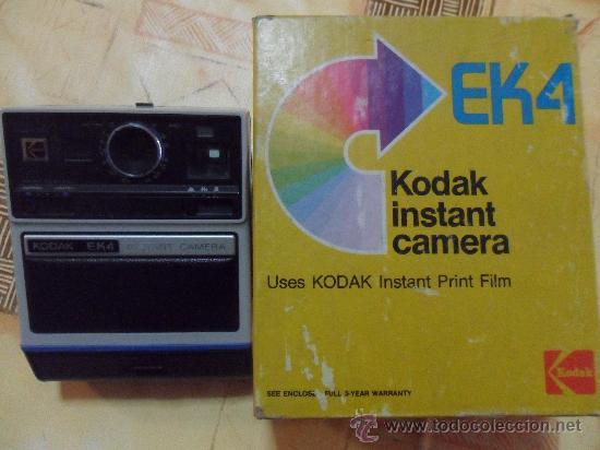 Cámara de fotos: Camara Kodak Instant EK4 En su caja original MADE IN USA 1976 como se ve fotos - Foto 7 - 31000802