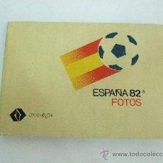 Cámara de fotos: ALBUM FOTOS - PUBLICIDAD MUNDIAL ESPAÑA 82 - PARA 24 FOTOS DE 10X15. Lote 31605458