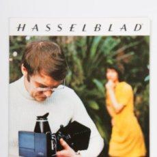 Cámara de fotos: CATÁLOGO HASSELBLAD - FOTOGRAFÍA CON PELLICOLE ISTANTANEE POLAROID, AÑO 1975 - EN ITALIANO. Lote 31754766