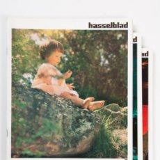 Cámara de fotos: LOTE FASCICULOS HASSELBLAD Nº 1, 2 Y 4 DEL AÑO 1972 - EN ITALIANO. Lote 31755389