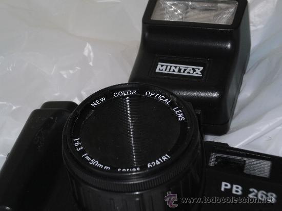 Cámara de fotos: CAMARA DE FOTOS MINTAX MODELO PB 268 - LENS COLOR 50 mm , FOCUS 1:6.3 - Foto 8 - 31995005