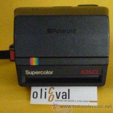 Cámara de fotos: POLAROID SUPERCOLOR 4 FT. 1,2 M. FILM POLAROID 600.. Lote 32061716