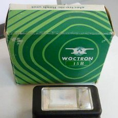 Cámara de fotos: FLASH ELECTRONICO VOCTRON 15 B-ELECTRONIC FLASH UNIT - AÑOS 70. Lote 32464953