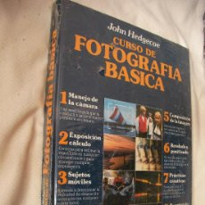 Cámara de fotos: VOLUMEN DE CURSO DE FOTOGRAFIA BASICA DE JOHN HEDGECOE PRECINTADO. Lote 48464155