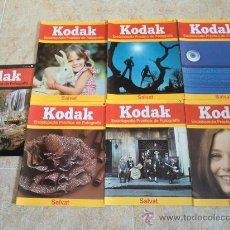 Cámara de fotos: 7 CATÁLOGOS Y FOLLETOS DE KODAK. ENCICLOPEDIA PRÁCTICA DE FOTOGRAFÍA. SALVAT. NUEVOS. Lote 32822752