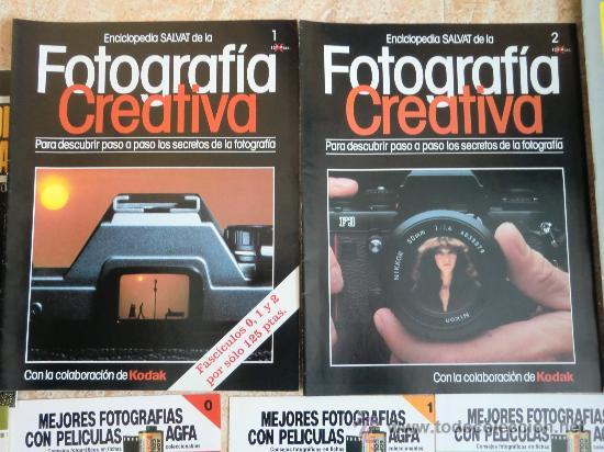 Cámara de fotos: Lote de 9 catálogos y folletos de fotografía: AGFA, KODAK, ORBIS, PLANETA, PRISMA. Nuevos - Foto 2 - 32822909