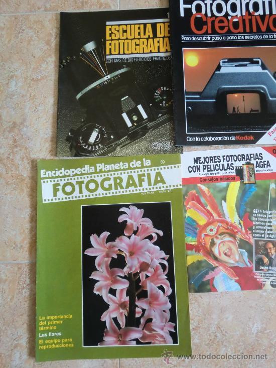 Cámara de fotos: Lote de 9 catálogos y folletos de fotografía: AGFA, KODAK, ORBIS, PLANETA, PRISMA. Nuevos - Foto 3 - 32822909