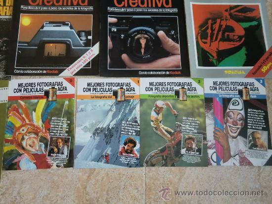 Cámara de fotos: Lote de 9 catálogos y folletos de fotografía: AGFA, KODAK, ORBIS, PLANETA, PRISMA. Nuevos - Foto 4 - 32822909