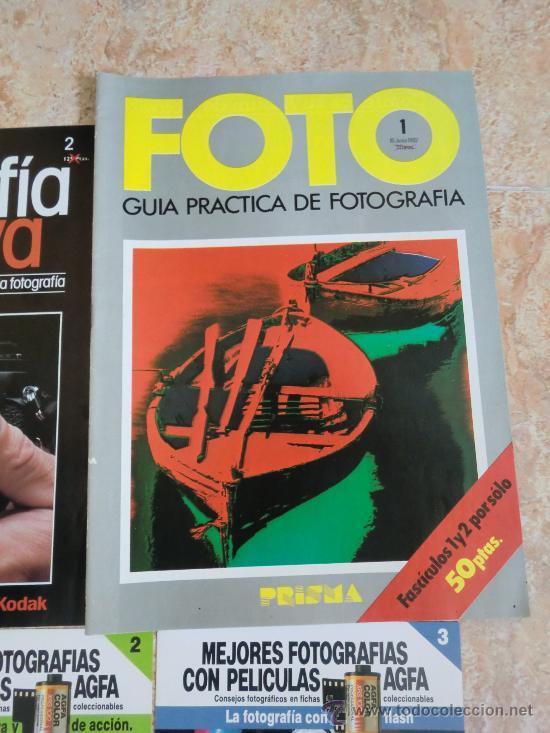 Cámara de fotos: Lote de 9 catálogos y folletos de fotografía: AGFA, KODAK, ORBIS, PLANETA, PRISMA. Nuevos - Foto 5 - 32822909