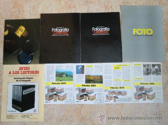 Cámara de fotos: Lote de 9 catálogos y folletos de fotografía: AGFA, KODAK, ORBIS, PLANETA, PRISMA. Nuevos - Foto 6 - 32822909