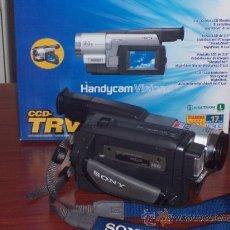 Cámara de fotos: VIDEOCAMARA SONY MO:CCD-TRV78E , VIDEO HI8MM , GRABACION NOCTURNA 0 LUX . POCO USO. Lote 32917691