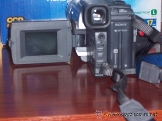 Cámara de fotos: VIDEOCAMARA SONY MO:CCD-TRV78E , VIDEO HI8mm , GRABACION NOCTURNA 0 LUX . POCO USO - Foto 3 - 32917691