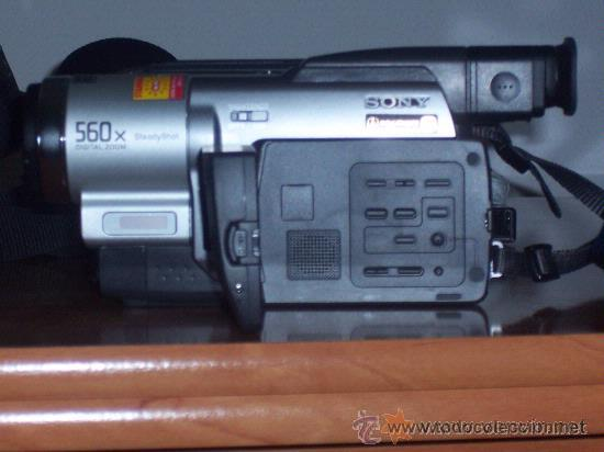 Cámara de fotos: VIDEOCAMARA SONY MO:CCD-TRV78E , VIDEO HI8mm , GRABACION NOCTURNA 0 LUX . POCO USO - Foto 6 - 32917691