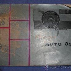 Cámara de fotos: FOLLETO CAMARA RICOH AUTO 35. Lote 33238106