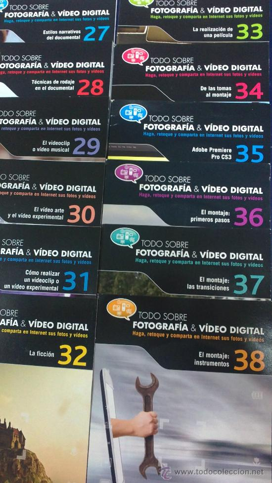 Cámara de fotos: -COLECCION COMPLETA- 49 CDS:TODO SOBRE FOTOGRAFÍA Y VIDEO DIGITAL EDITADOS POR EL MUNDO EN EL 2010. - Foto 3 - 33757338