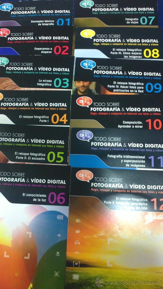 -COLECCION COMPLETA- 49 CDS:TODO SOBRE FOTOGRAFÍA Y VIDEO DIGITAL EDITADOS POR EL MUNDO EN EL 2010. (Cámaras Fotográficas - Catálogos, Manuales y Publicidad)