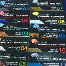 Cámara de fotos: -COLECCION COMPLETA- 49 CDS:TODO SOBRE FOTOGRAFÍA Y VIDEO DIGITAL EDITADOS POR EL MUNDO EN EL 2010.. Lote 33757338