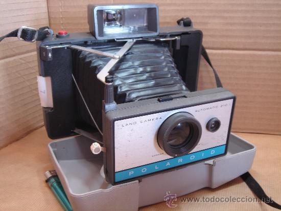28f1c4f24a 11 fotos ANTIGUA CAMARA DE FOTOS INSTANTANEA - POLAROID LAND CAMERA  AUTOMATIC 210 - U.S.A. 1967 (Cámaras ...