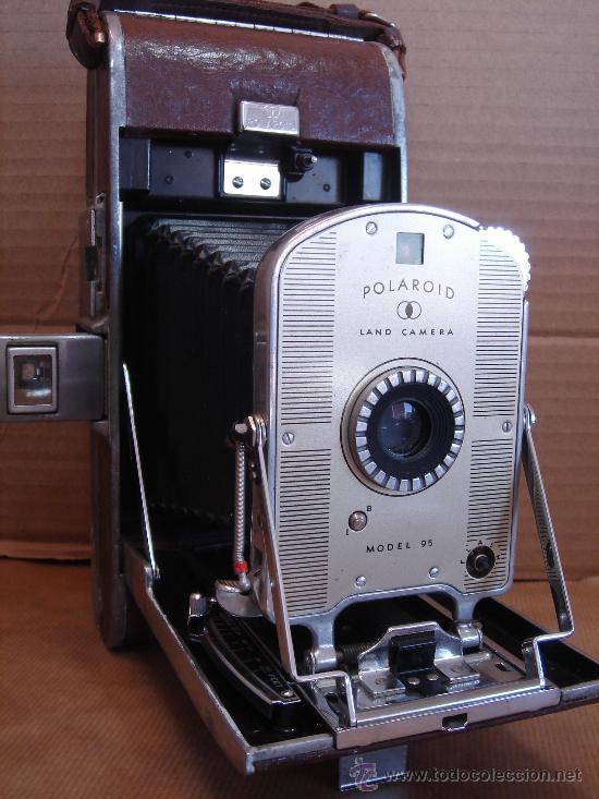ANTIGUA CAMARA DE FOTOS - POLAROID INSTANTANEA - LAND CAMERA 95 - U.S.A. 1948 (Cámaras Fotográficas - Otras)
