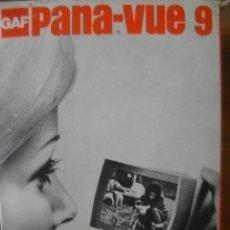 Cámara de fotos: VISOR DE DIAPOSITIVAS PANA-VUE 9 CON CAJA ORIGINAL. Lote 34609394