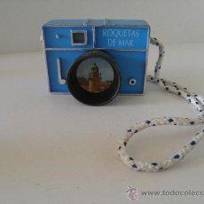 Cámara de fotos: MÁQUINA DE FOTOS CON VISOR DE DIAPOSITIVAS CON VISTAS DE ROQUETAS DE MAR, ALMERÍA. 8,7X 6,2X 3 M.. Lote 35138835
