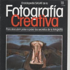 Cámara de fotos: 1 FEVISTA ENCICLOPEDIA SALVAT DE LA FOTOGRAFÍA CREATIVA Nº 111. Lote 35341486