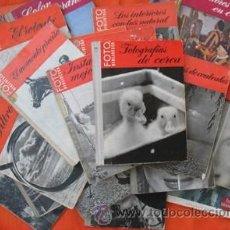 Cámara de fotos: TECNICA DE LA FOTO-MINIATURA-OMEGA EDICIONES 1959- HEINRICH FREYTAG - NUEVO SIN USAR DE KIOSKO. Lote 35625009