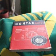 Cámara de fotos: GUÍA CONTAX DE TELÉMETRO, EN INGLÉS. 112 PÁGS. (1953) . Lote 35641349