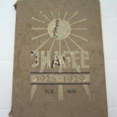 Cámara de fotos: ANTIGUO CATÁLOGO CÁMARAS IHAGEE AÑOS 1928 - 1929. Lote 35714603