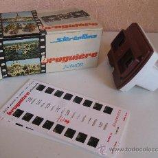 Cámara de fotos: VISOR ESTEREOSCÓPICO - STÉRÉOFILMS BRUGUIÉRE JUNIOR - CON DIOGRAMAS DE LOURDES - EN SU CAJA ORIGINAL. Lote 36121173
